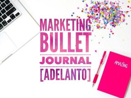 marketing bullet journal
